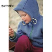 Vorschau: Bio Walk Kinderjacke Outdoor gefüttert Reflektoren blau