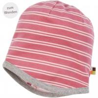 Wendemütze Sweat Waldtiere rosa