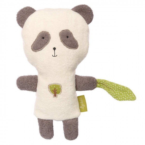 Panda Kuscheltier & Wärmekissen Kirschkerne