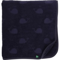 Kinder Bade Handtuch in navy 70x140