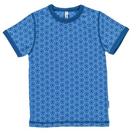 Cooles Fussball T-Shirt in blau