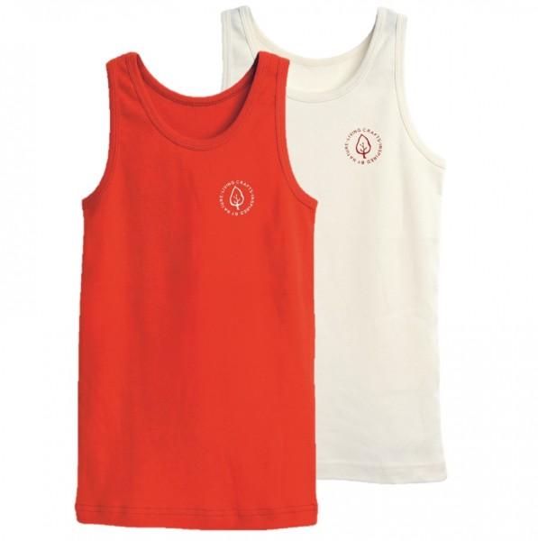 Unterhemd für Mädchen im 2er Pack
