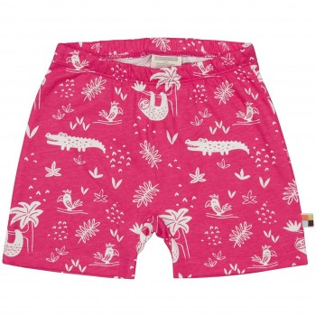 leichte Dschungel Shorts pink