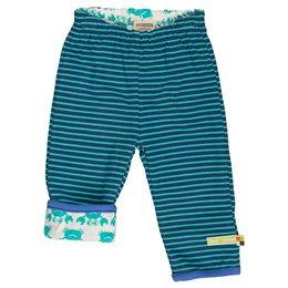 Kinder Wendehose warm marine grün