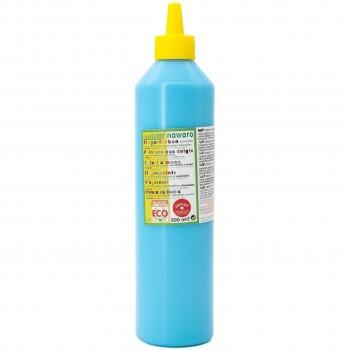 Fingerfarben 500 ml Schul- und Theaterfarbe türkis
