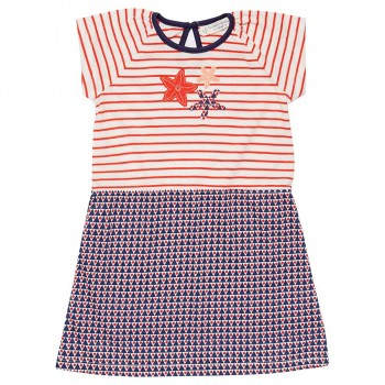 Seestern Kleid rot-marine