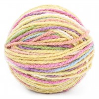 Mischgarn aus Wolle und Seide – Pastelltöne 25g