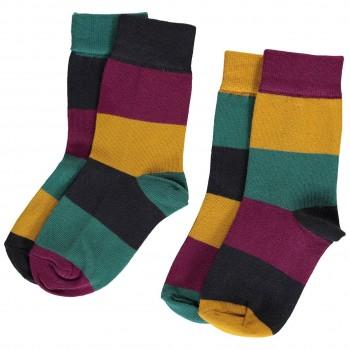 Socken im Multitown-Design Doppelpack