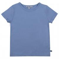 Hellblaues Shirt kurzarm uni Basic