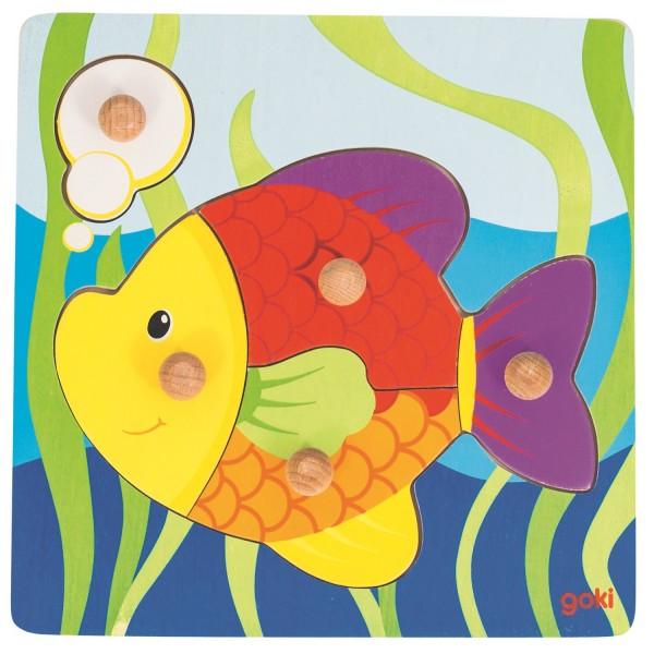 Steckpuzzel Fisch - 5 tlg