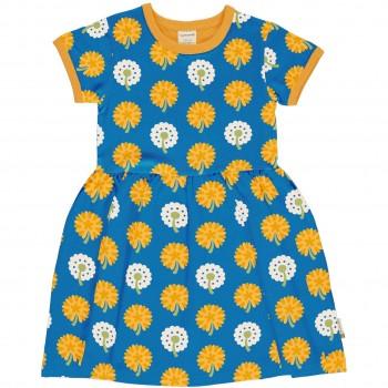 Flatter Kleid kurzarm elastisch Löwenzahn