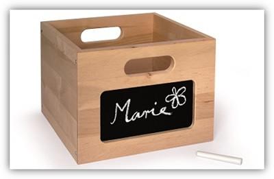 Kaufladen-Zubehor-Holz-Box