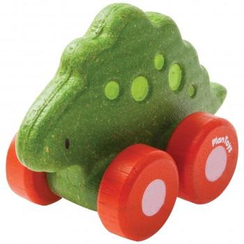 """Spielzeugauto Dino """"Stego"""" Schiebetier ab 12 Monate"""