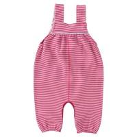Vorschau: Baby Latzhose warm Ringel rosa-pink