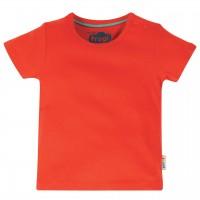 Robusten uni Shirt kurzarm in rot
