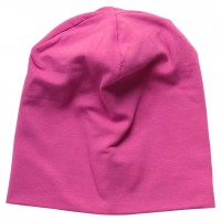 Beanie uni in pink