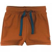Leichte Shorts uni in ocker braun