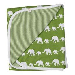 Babydecke / Wendedecke Elefantenkarawane