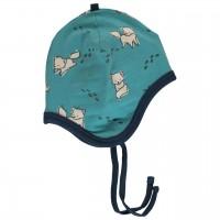 Babymütze gefüttert mit Ohrenschutz Nicki  Polarfüchse