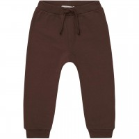 Uni Sweat Babyhose in braun