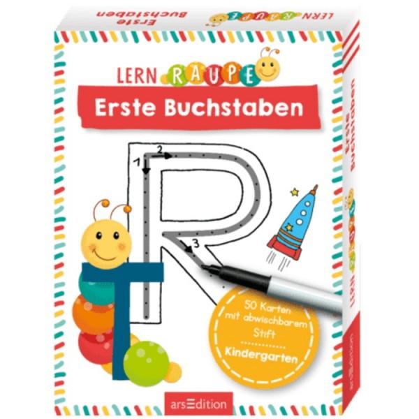 Lernraupe 50 Lernkarten Erste Buchstaben
