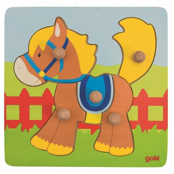 Steckpuzzel Pferd - 5 tlg