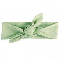 Haarband edel uni in hellem grün