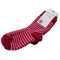 Socken pink streifen 2 Paar