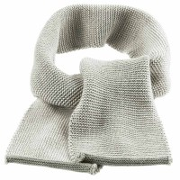 Schal Wolle ab 2 - 12 Jahre grau