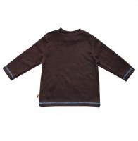 Vorschau: Weiches Langarmshirt mit Druckknöpfen