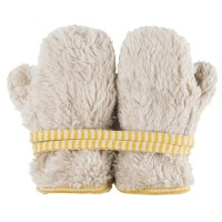 Teddy Plüsch Handschuhe Biobaumwolle kaschmir