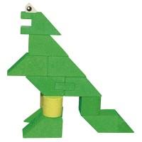 """Vorschau: Baukasten Dinosaurier """"Dinosa"""" 23 tlg."""