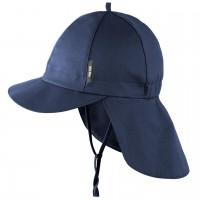 Navy Robuste Schirmmütze Nackenschutz