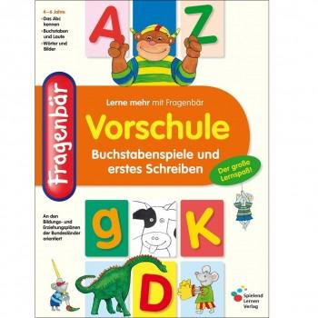 Buchstaben Spiele ab 4 Jahre Mitmachbuch