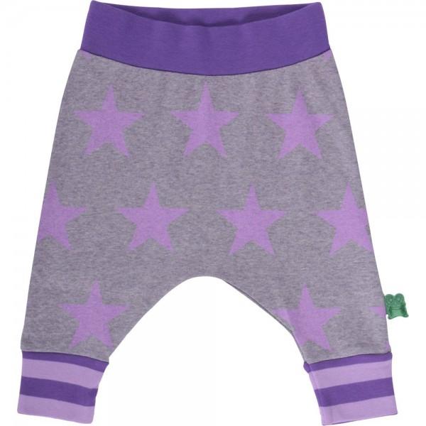 """Krabbelhose funky Pants """"Sterne"""" lila"""