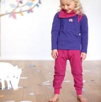Schicke Hose aus weichem Interlock pink