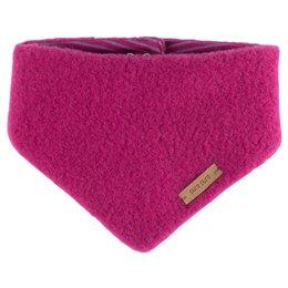 Winter Dreiecktuch verstellbar pink