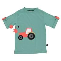 Vorschau: Traktor T-Shirt für Jungen in grün