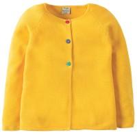 Schicker Mädchen Cardigan - gelb
