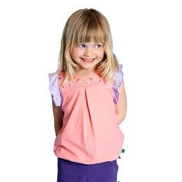 Sommer Mädchen Shirt gestickt