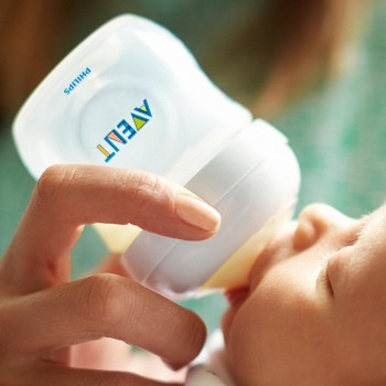 Milchflasche AVENT natural 125 ml Gr. 0 m+