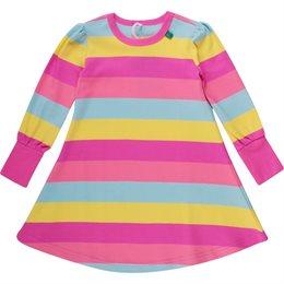 Kleid für Mädchen Sommer + Übergangszeit - pink