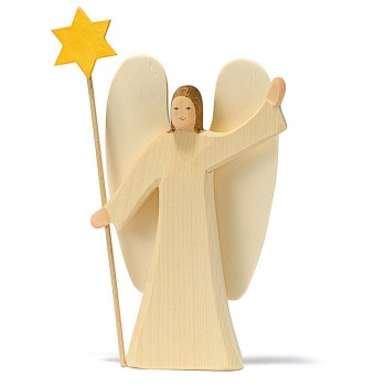 Engel mit Stern / Erzengel Figur 27 cm