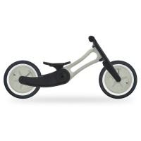 2in1 Laufrad mitwachsend leicht ab 18 Monaten grau Recycelt