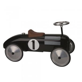 Rutscherfahrzeug mit Gummiräder - Klassik black