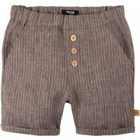Leichte Leinen Shorts braun