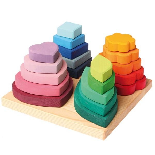 Farben und Formen sortieren 20 Teile