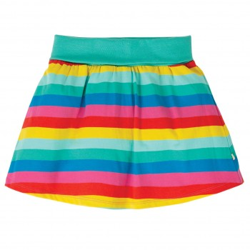 Bündchen Rock mit Shorts - 2in1 Rainbow