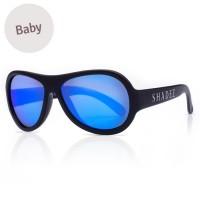 Baby flexible Sonnenbrille 0-3 Jahre  uni schwarz polarisiert