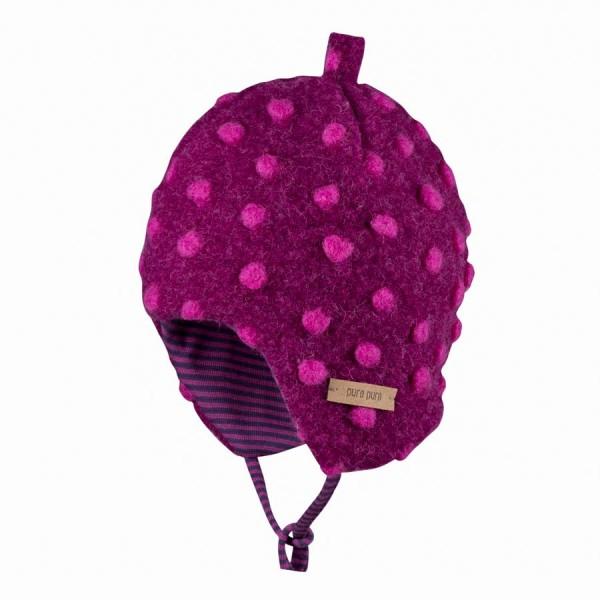 826cf8d71273 Mädchen Fleece Wintermütze zum Binden   greenstories
